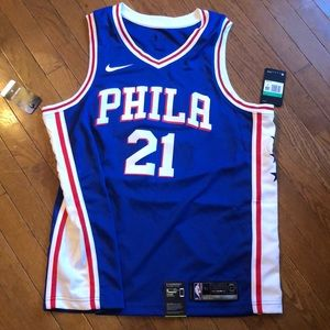 NWT Philly Sixers Embiid Jersey